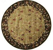 Link to 7' 8 x 7' 8 Tabriz Design Round Rug
