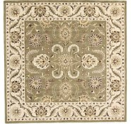Link to 10' 1 x 10' 1 Classic Agra Square Rug