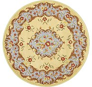 Link to 6' 6 x 6' 6 Classic Aubusson Round Rug