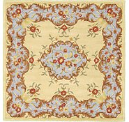 Link to 6' 6 x 6' 6 Classic Aubusson Square Rug