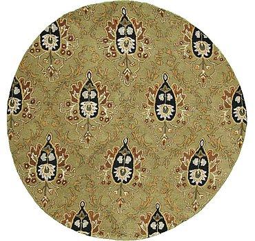 198x198 Floral Agra Rug