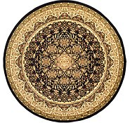 Link to 9' 10 x 9' 10 Isfahan Design Round Rug