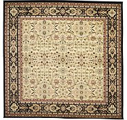 Link to 9' 10 x 9' 10 Kerman Design Square Rug