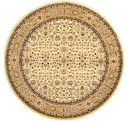 Link to 9' 10 x 9' 10 Kerman Design Round Rug