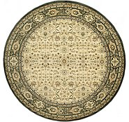 Link to 9' 10 x 9' 10 Kerman Design Round Rug