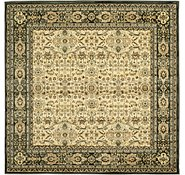 Link to 6' 7 x 6' 7 Kerman Design Square Rug
