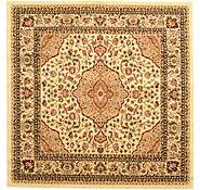 Link to 6' 7 x 6' 7 Kashan Design Square Rug