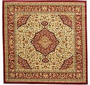 Link to 9' 10 x 9' 10 Kashan Design Square Rug