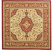 Link to 6' 7 x 6' 7 Kashan Design Square Rug