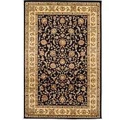 Link to 5' x 7' 7 Mashad Design Rug