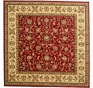 Link to 9' 10 x 9' 10 Kashan Design Square Rug