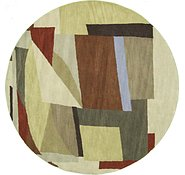 Link to 8' 2 x 8' 2 Reproduction Gabbeh Round Rug