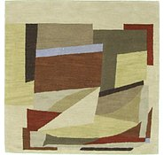 Link to 6' 3 x 6' 3 Reproduction Gabbeh Square Rug