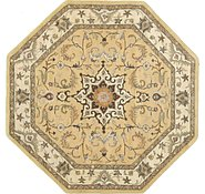 Link to 8' 2 x 8' 2 Kashan Design Octagon Rug