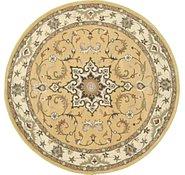Link to 6' 6 x 6' 6 Kashan Design Round Rug