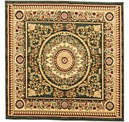 Link to 6' 7 x 6' 7 Classic Aubusson Square Rug