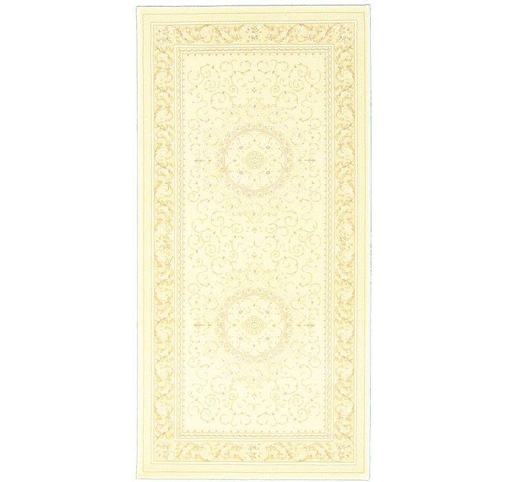 5' x 9' 10 Tabriz Design Runner Rug
