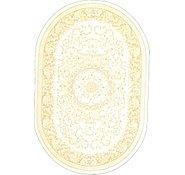 Link to 4' x 6' Tabriz Design Oval Rug