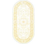 Link to 5' x 7' 7 Tabriz Design Oval Rug