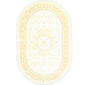 Link to 6' 5 x 9' 8 Tabriz Design Oval Rug