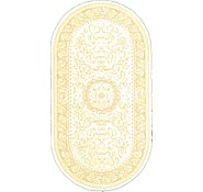 Link to 2' 7 x 5' Tabriz Design Oval Rug