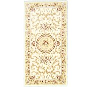 Link to 2' 7 x 5' Carved Aubusson Rug