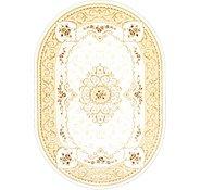 Link to 8' 2 x 11' 6 Tabriz Design Oval Rug