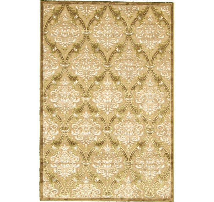 5' x 7' 3 Tabriz Design Rug