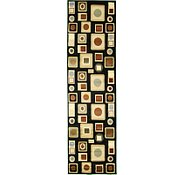Link to 2' 7 x 9' 6 Reproduction Gabbeh Runner Rug