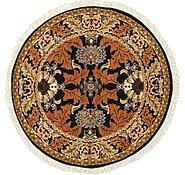 Link to 6' x 6' Meshkabad Design Round Rug