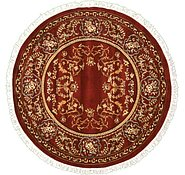 Link to 6' x 6' Kerman Design Round Rug