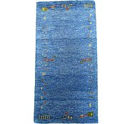 Link to 2' 4 x 4' 7 Indo Gabbeh Rug