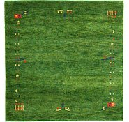 Link to 4' 11 x 4' 11 Indo Gabbeh Square Rug