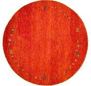 Link to 4' 11 x 4' 11 Indo Gabbeh Round Rug