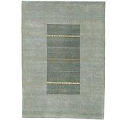Link to 5' 8 x 8' Indo Tibet Rug