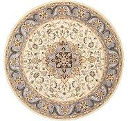 Link to 9' 9 x 9' 9 Kashan Design Round Rug