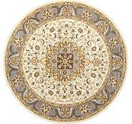 Link to 12' 1 x 12' 1 Kashan Design Round Rug