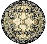 Link to 12' 1 x 12' 1 Classic Aubusson Round Rug