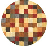 Link to 6' 2 x 6' 2 Reproduction Gabbeh Round Rug