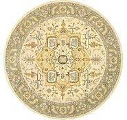 Link to 9' 10 x 9' 10 Geometric Agra Round Rug