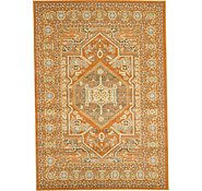 Link to 5' x 8' Heriz Design Rug
