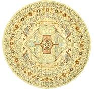 Link to 8' x 8' Heriz Design Round Rug