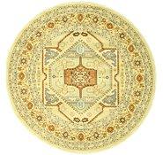 Link to 6' x 6' Heriz Design Round Rug