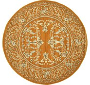 Link to 8' x 8' Kerman Design Round Rug