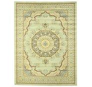 Link to 9' 10 x 13' Kashan Design Rug