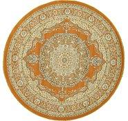 Link to 6' x 6' Kashan Design Round Rug
