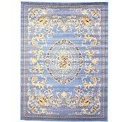 Link to 9' 10 x 13' Mashad Design Rug