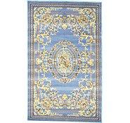 Link to 5' x 8' Mashad Design Rug