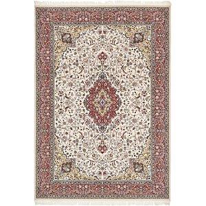 Unique Loom 8' 2 x 11' 6 Isfahan Design Rug