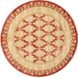 Link to 6' x 6' Kensington Round Rug page